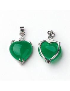 Coeur jade malais naturelles