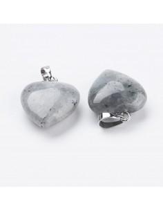 Coeur en Labradorite (1,8 cm)