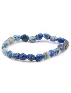 Bracelet Azurite perles grains