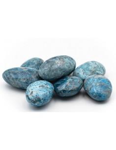 Pierres roulées Apatite bleu