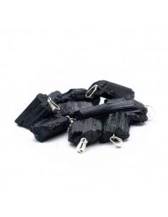 tourmaline noir pendentif brut