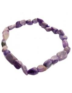 bracelet charoite grains