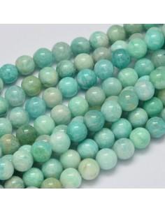 perles amazonite 08 mm