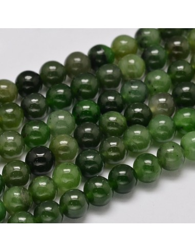 Bracelet Jade Néphrite perles 06 mm