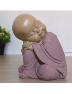 Baby bouddha happy penseur