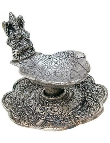 Porte encens mains et Ganesh