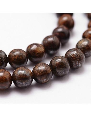 Perles Bronzite