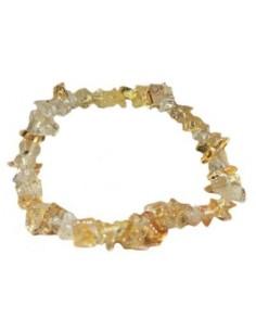 bracelet baroque citrine