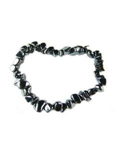 Bracelet baroque hematite