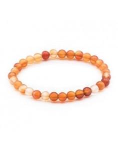 Bracelet Cornaline Perles 06mm