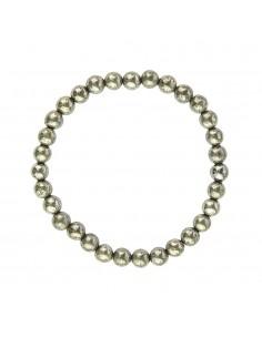 Bracelet Pyrite Perles 06mm