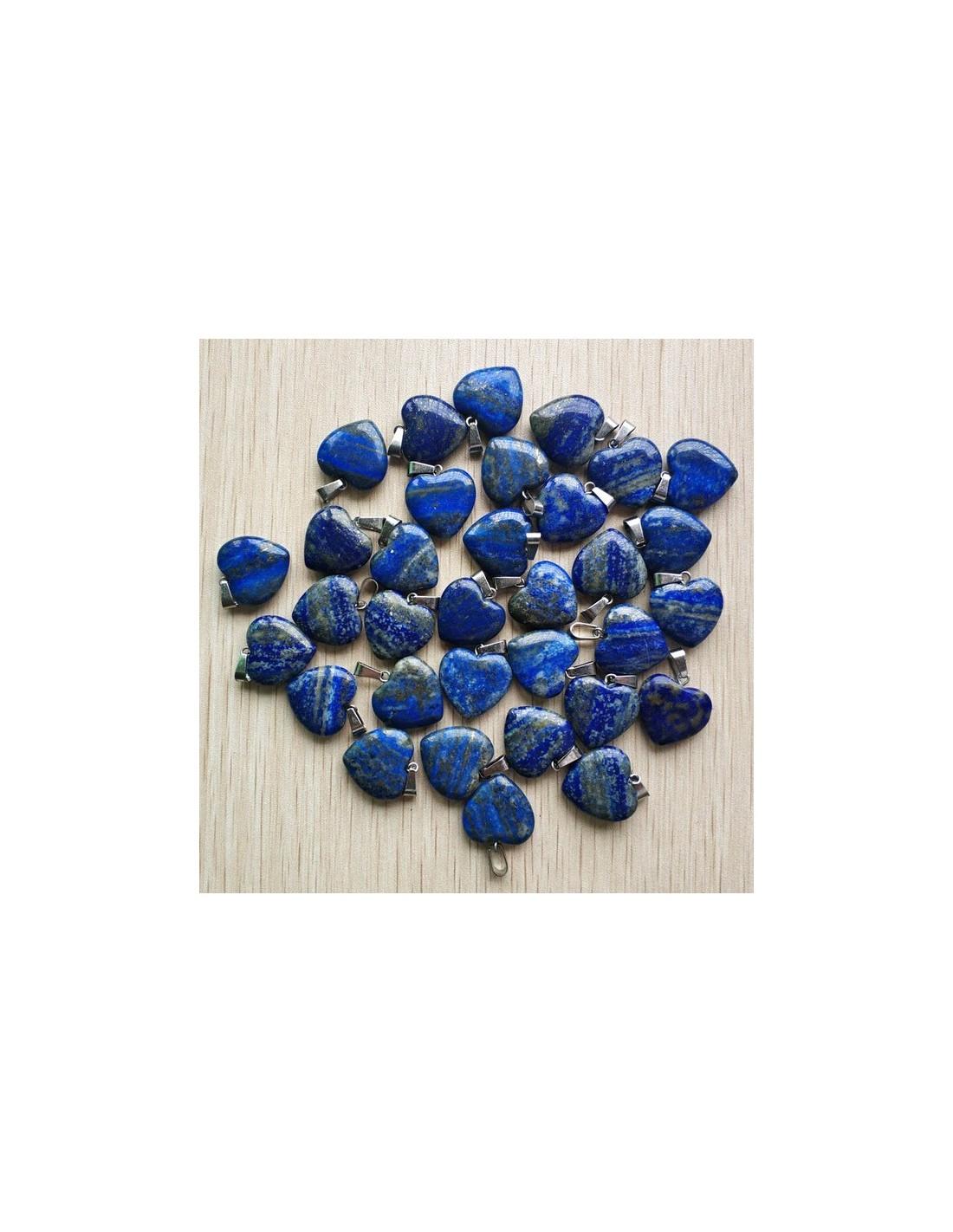 coeur en lapis lazuli