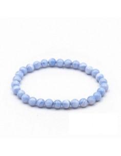 Bracelet Perles Calcédoine...