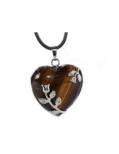 Coeur tulipe Oeil du Tigre