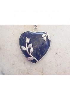 Coeur tulipe Lapis Lazulis
